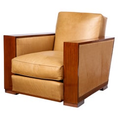 Wood Club Chairs