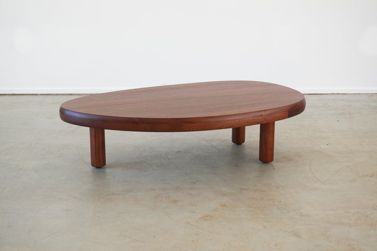 American French Mahogany Coffee Table For Sale