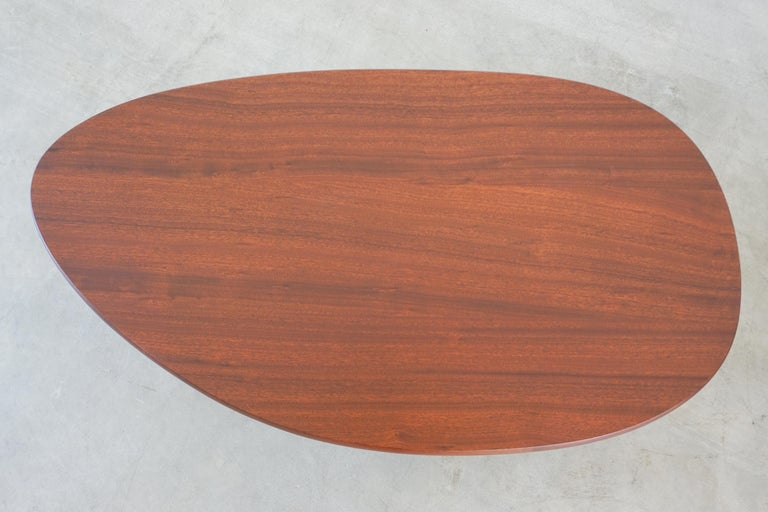 French Mahogany Coffee Table For Sale 2