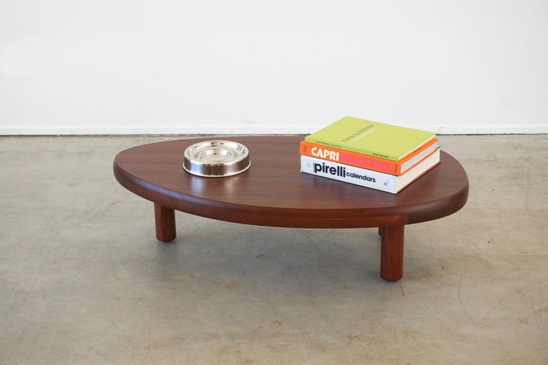 French Mahogany Coffee Table For Sale 4