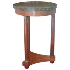 French Mahogany Empire Period Lamp Table