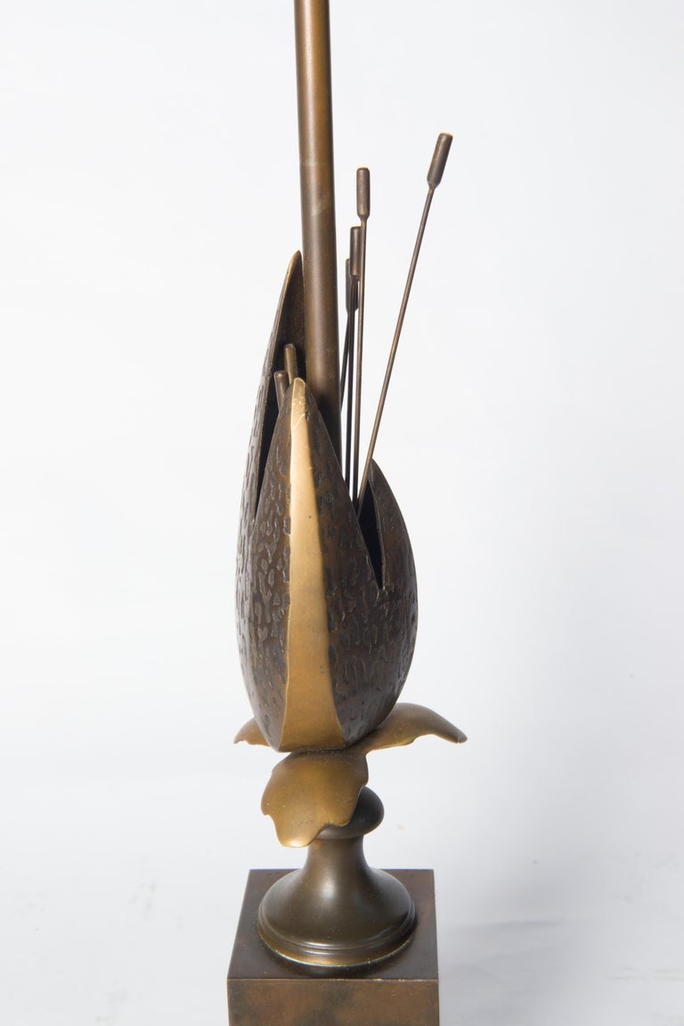 French Maison Charles Style Bronze Pod Lamp For Sale 1