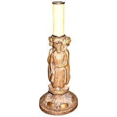 French Maison Jansen Style Bronze Orientalist Lamp