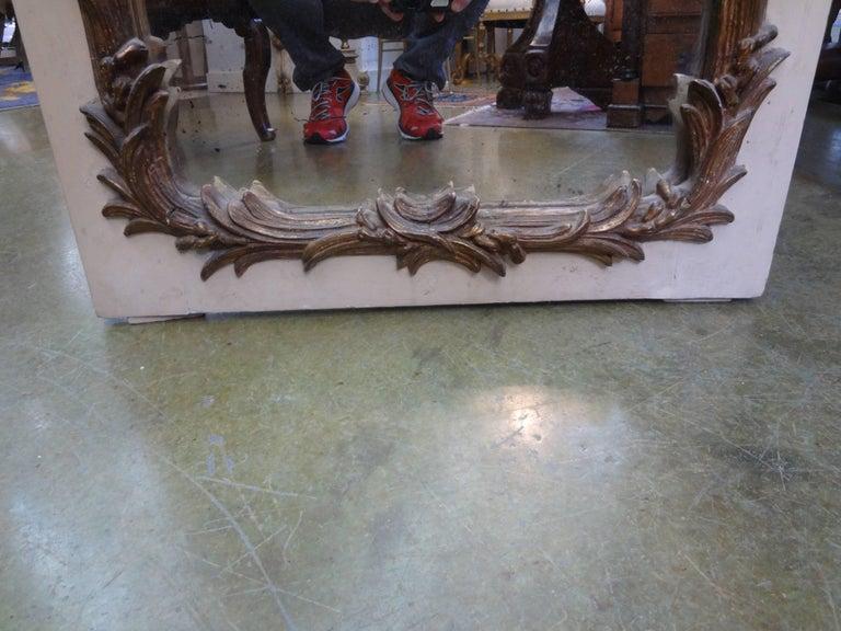 French Maison Jansen Style Chinoiserie Eglomise Mirror, circa 1920 For Sale 1