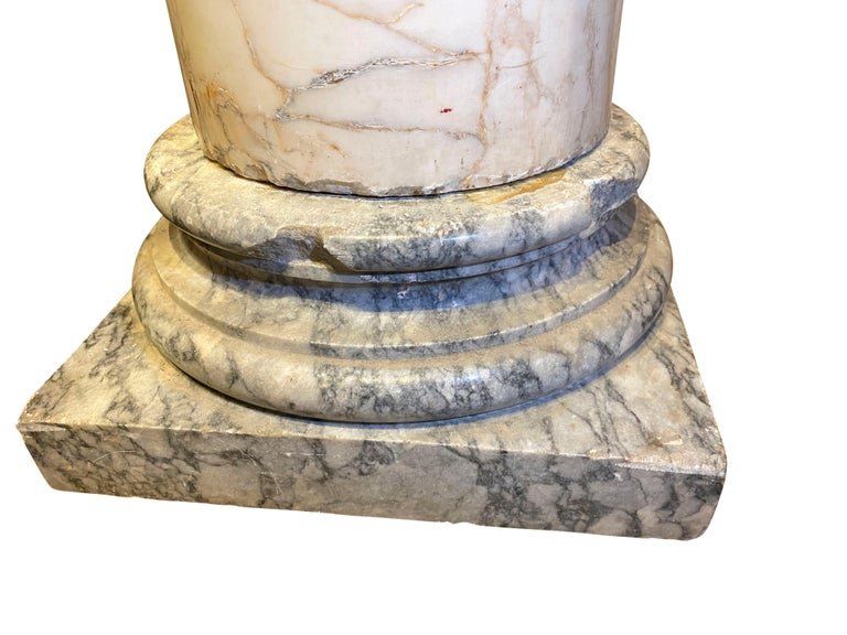 French Marble Column For Sale 1