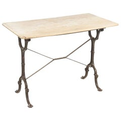 French Marble Garden Bistro Table