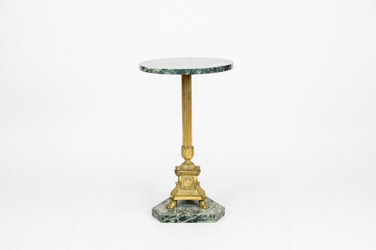 French Marble-Top Table For Sale 1