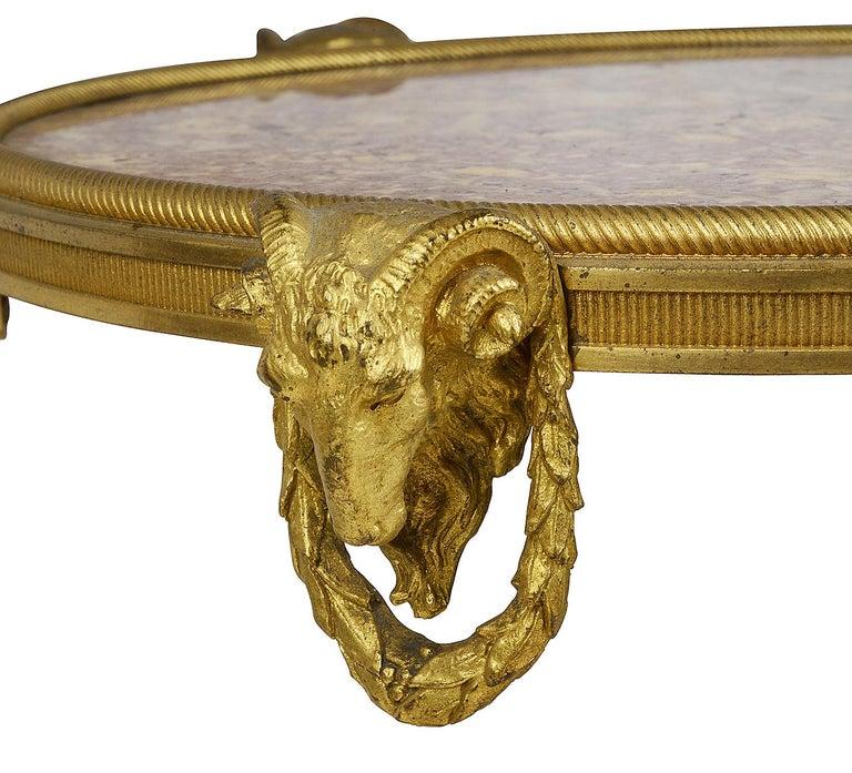 Empire French Marble Topped Gueridon, circa 1890