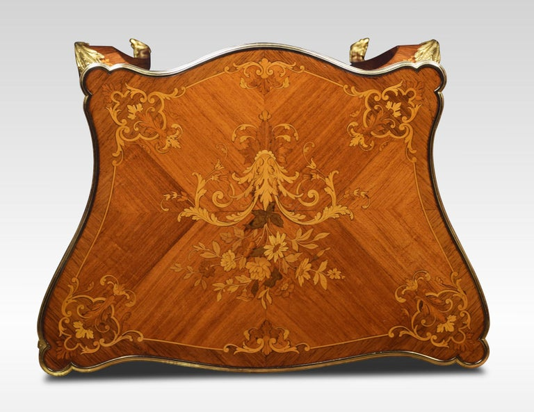 French marquetry Dressing Table For Sale 5