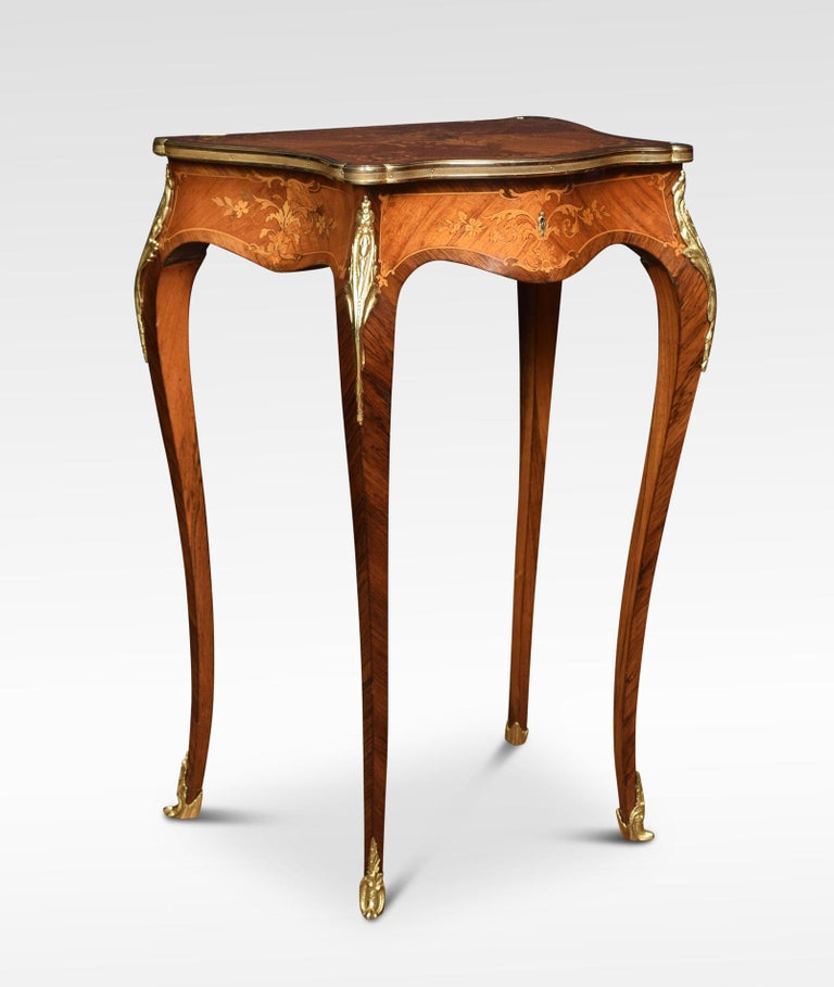 French marquetry Dressing Table In Good Condition For Sale In Cheshire, GB