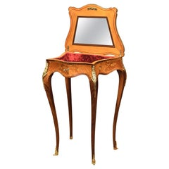 French marquetry Dressing Table