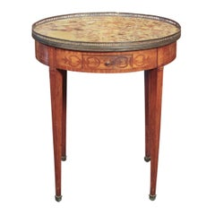 French Marquetry Inlaid Boulliotte Table
