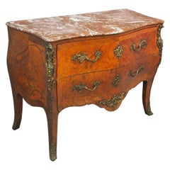 French Marquetry Kingwood Commode