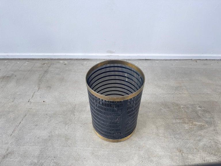 French Mategot Style Trash Bin For Sale 1