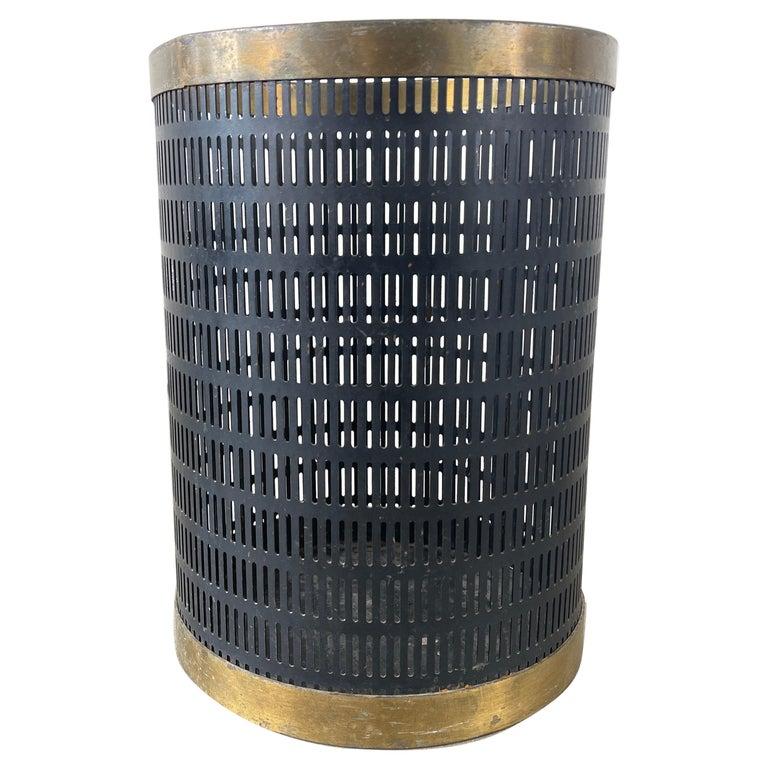 French Mategot Style Trash Bin For Sale
