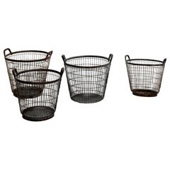French Metal Baskets