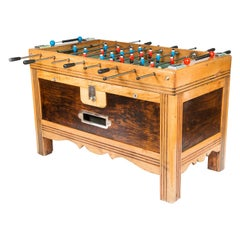 "French Mid-1930s Table Football ""Foosball"" Game"