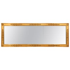 French Mid-19th Century Directoire Style Giltwood Mirror