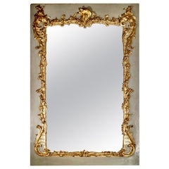 French Mid-19th Century Giltwood Mirror