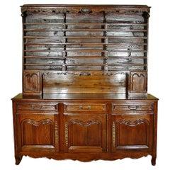 French Mid-19th Century Louis XVI Style Oak 'Vaissellier'