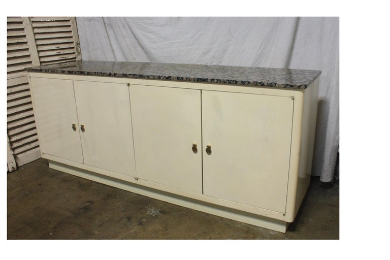 Lacquered French Mid-20th Century Sideboard For Sale