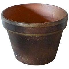 French Mid-20th Century Small Ceramic Pot