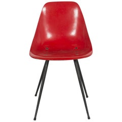 French Midcentury Chair by René-Jean Caillette