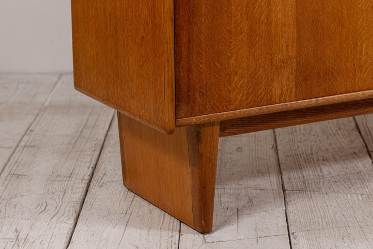 French Midcentury Credenza with Plinth Legs 7