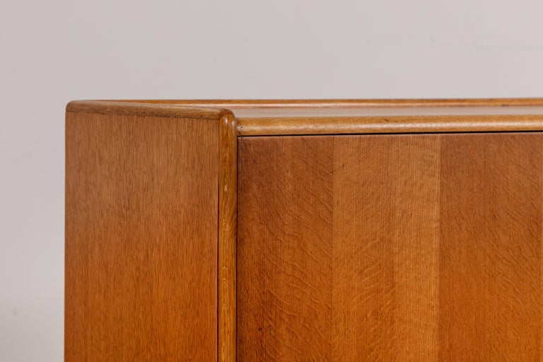 French Midcentury Credenza with Plinth Legs 3