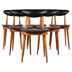 French Mid Century Dining Chairs by Pierre Guariche