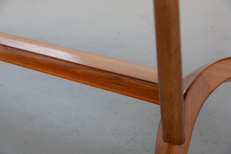 French Mid-Century Dining Table/Desk with Leaf For Sale 1