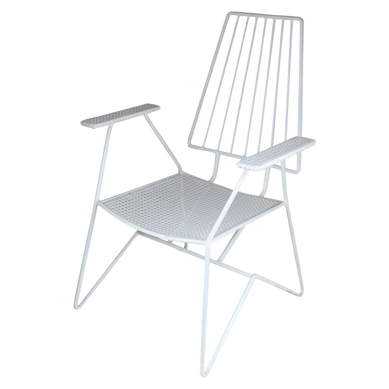 French Mid-Century Modern Armchair by Mathieu Matégot