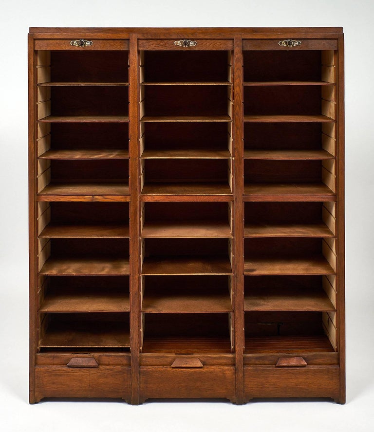 French Mid-Century Modern Filing Cabinet For Sale At 1stdibs