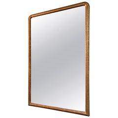 French Mid-Century Modern Mirror
