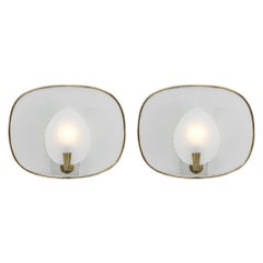 French Mid-Century Modern Sconces