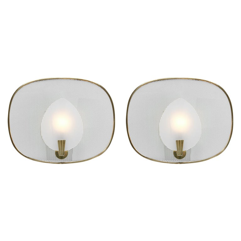 French Mid-Century Modern Sconces For Sale
