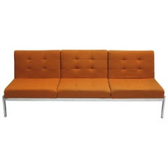 French Mid-Century Modern Sofa / Couch by Airborne International, circa 1960