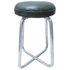 French Mid-Century Modern Stool