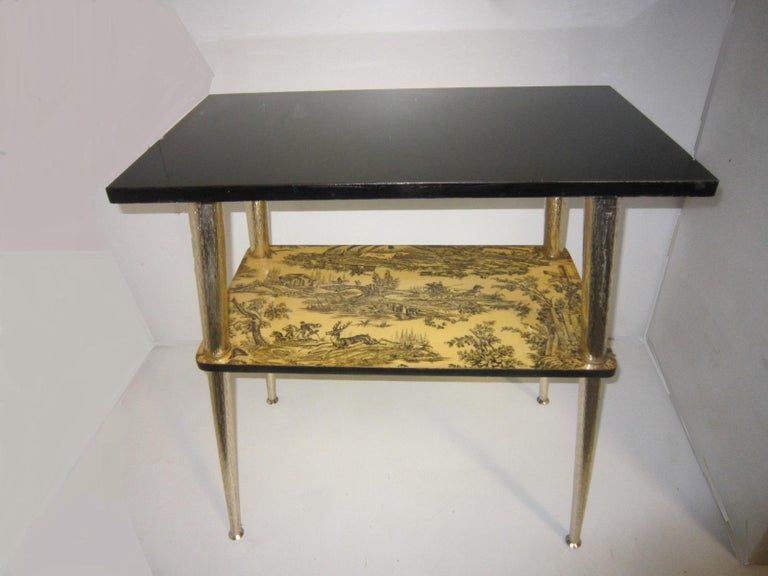French Midcentury Side Table / Console For Sale 8