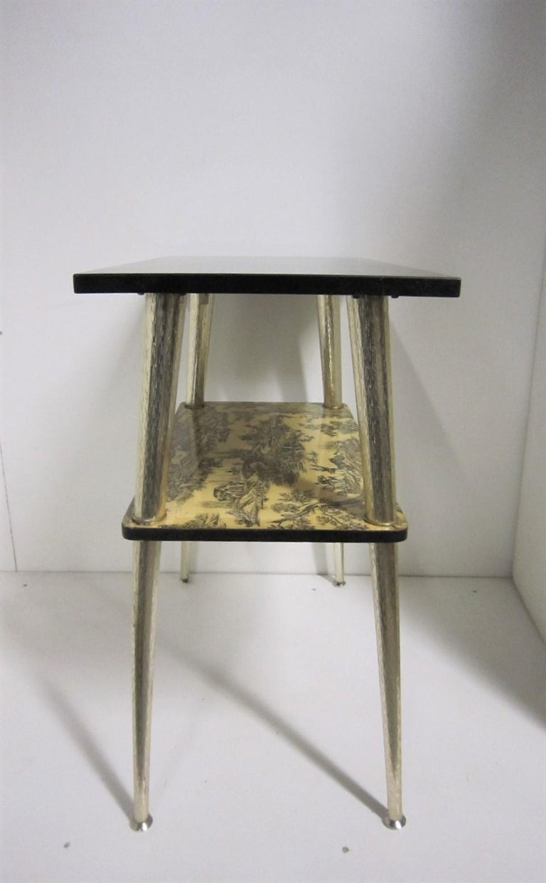 French Midcentury Side Table / Console For Sale 9