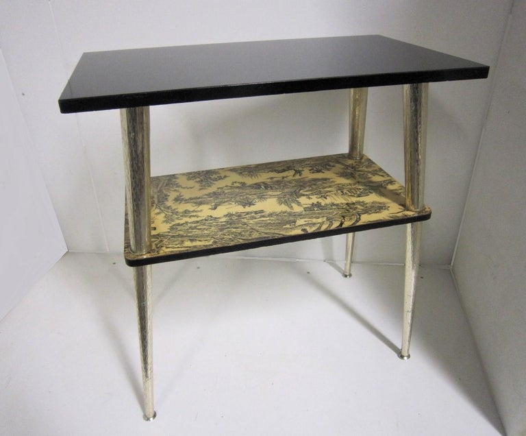 French Midcentury Side Table / Console For Sale 10