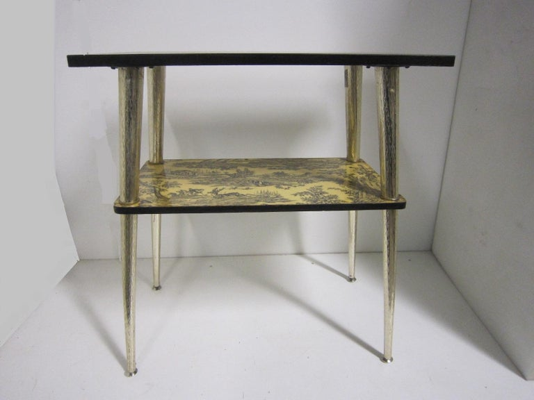 French Midcentury Side Table / Console For Sale 11