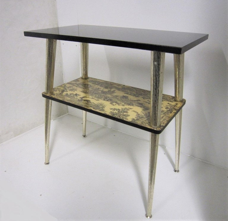 French Midcentury Side Table / Console For Sale 12