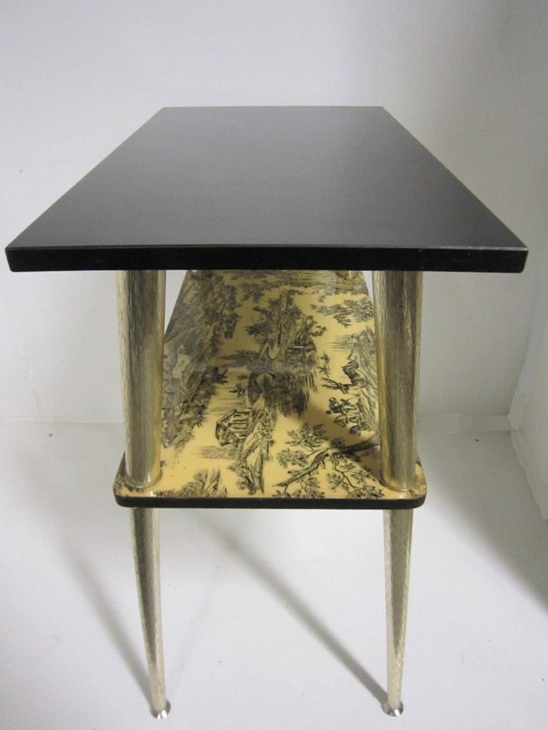French Midcentury Side Table / Console In Good Condition For Sale In New York City, NY