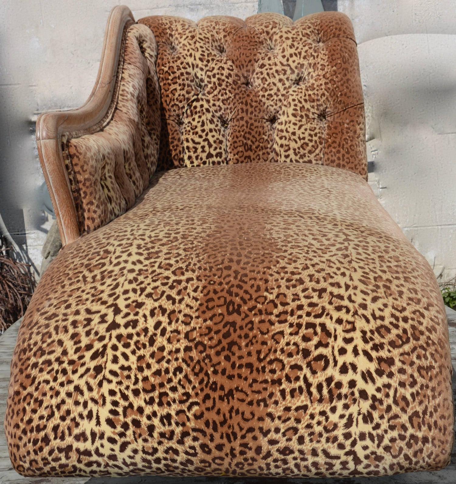 for sale animal vintage chair sofa full leopard indoor wonderful chaise lounge couches size print