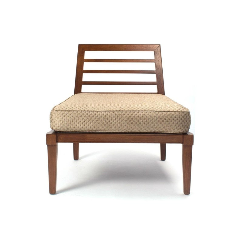 French Midcentury Chairs in the Style of Andre Arbus In Good Condition For Sale In New York, NY