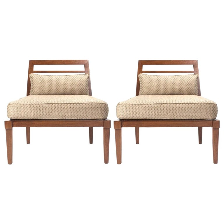 French Midcentury Chairs in the Style of Andre Arbus For Sale
