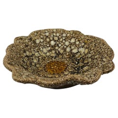 French Midcentury Fat Lava Style Bowl in the Manner of Charles Cart, 1960s