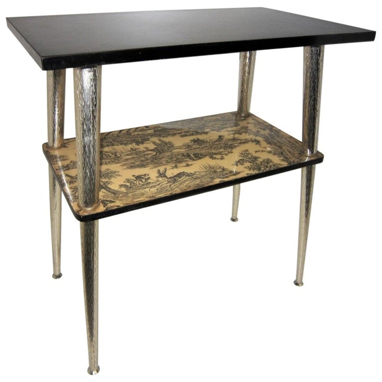 French Midcentury Side Table / Console For Sale
