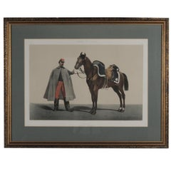 French Military Hand Colored Engraving, Dated 1859
